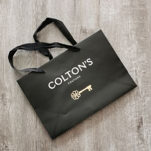 Colton's Couture Paper Shopping Bag